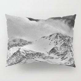"""Wild mountains"". Wilderness. Into the storm Pillow Sham"