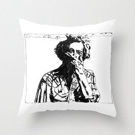 Bon Iver - Justin Vernon Throw Pillow