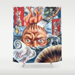 A Dream Las Night Shower Curtain
