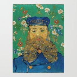Vincent Van Gogh - Portrait of the Postman Joseph Roulin Poster