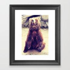 Teddy? Framed Art Print