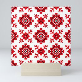 Slavonic national ornament Mini Art Print