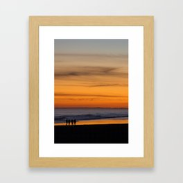 Beachcombers Framed Art Print