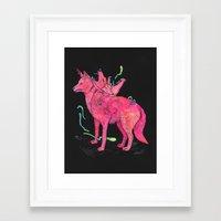 kozyndan Framed Art Prints featuring Desert Dreamer Dos by kozyndan