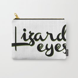 Lizard Eyes Carry-All Pouch