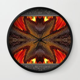 Color Fashion Abstract Wall Clock