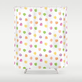 Colorful berlingots Shower Curtain