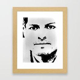 Misha Framed Art Print
