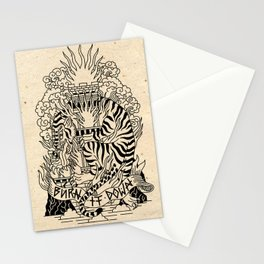 Burn it down! Stationery Cards
