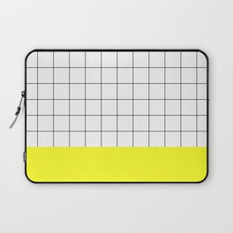 Scandi Grid Sq Y Laptop Sleeve