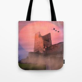 Castle in the evening Tote Bag
