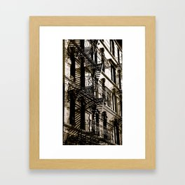 New York City Blocks Framed Art Print