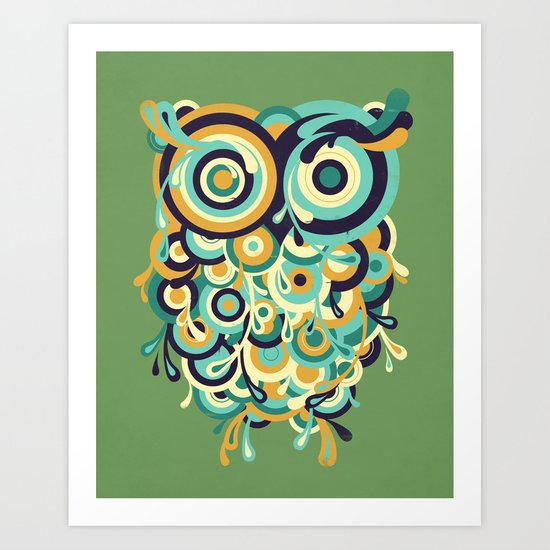 Hoot Art Print