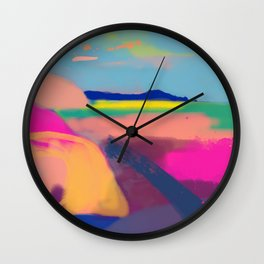 Mangawhai New Zealand Wall Clock