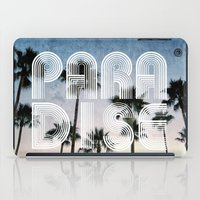 paradise iPad Cases featuring PARADISE by RichCaspian