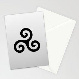 Triskele 8 -triskelion,triquètre,triscèle,spiral,celtic,Trisquelión,rotational Stationery Cards
