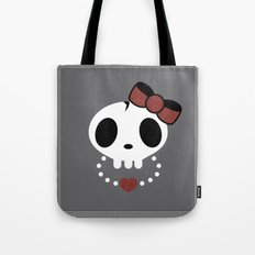 punk rawk girl Tote Bag
