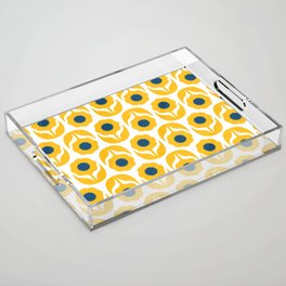 Joy collection- Yellow flowers Acrylic Tray