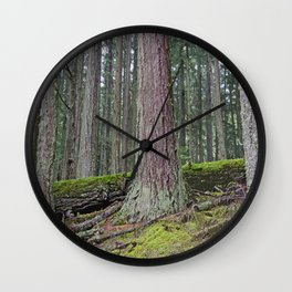 BIG FOREST Wall Clock