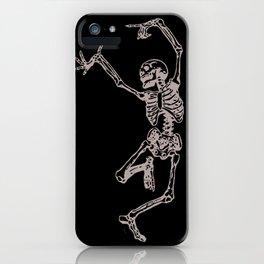 Dancer Skeleton iPhone Case
