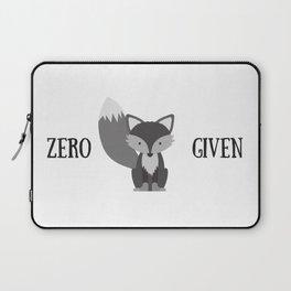 zero fox Laptop Sleeve