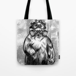 toxic bear  Tote Bag