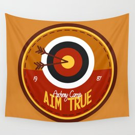 Aim True - Color Wall Tapestry