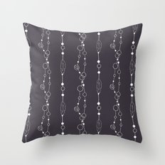 Boho Strings Throw Pillow