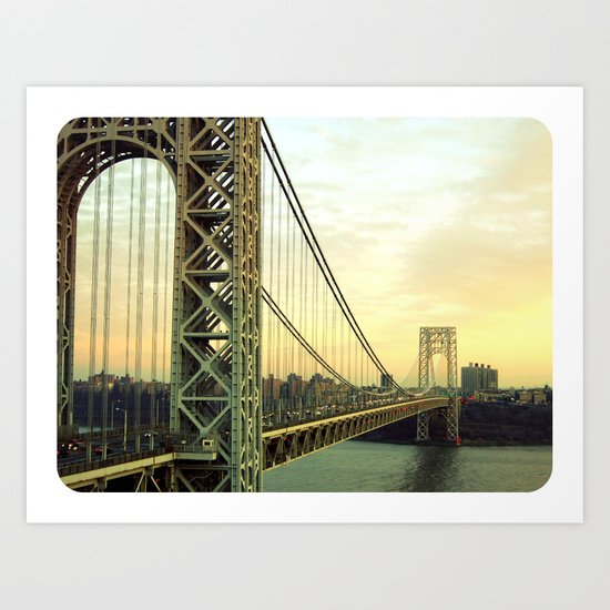 Gateway to NYC Art Print