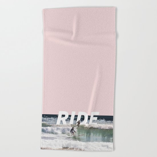 Ride Beach Towel