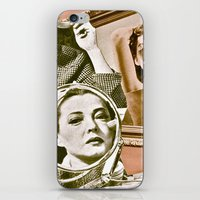 persona iPhone & iPod Skins featuring Persona - collage by Deborah Stevenson Photography