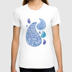 Saltwater Heart. [Switchfoot] White Womens Fitted Tee X-LARGE