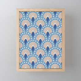 Parisian Tiles Framed Mini Art Print