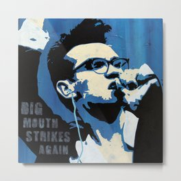 The Smiths - Big Mouth Strikes Again Metal Print