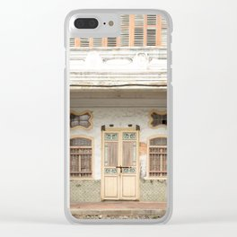 Old Shop House #26 Clear iPhone Case