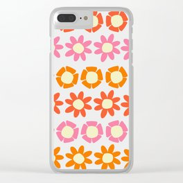 Peggy Retro Clear iPhone Case