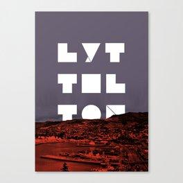 Happy Lyttelton Canvas Print