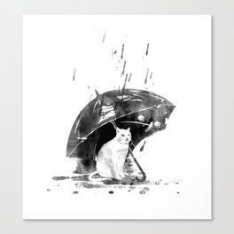 In the rain... Canvas Print
