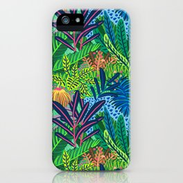 Laia&Jungle II iPhone Case