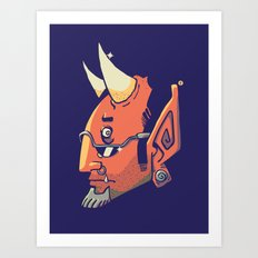 El Capiroto Art Print