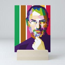 Steave Jobs Mini Art Print