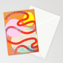 Abstract Composition No. 4 Stationery Cards