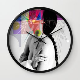IN HER WORLDS Wall Clock
