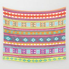 aztec pattern Wall Tapestry