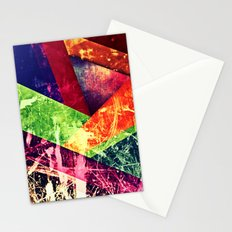 Through colour Stationery Cards