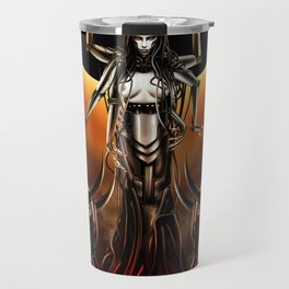 Black Sun Rising Travel Mug