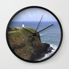 Kilauea Lighthouse, Kauai, Hawaii Wall Clock