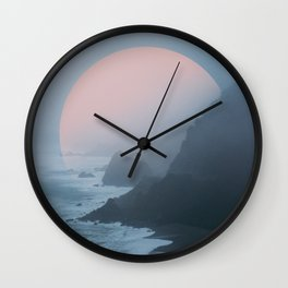 New Zealand Coast II Wall Clock