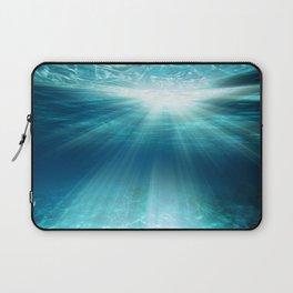 Light Rays Underwater Laptop Sleeve