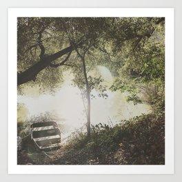 lost in the dream Art Print